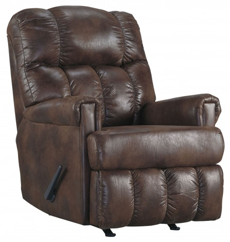 Chipster Espresso Rocker Recliner