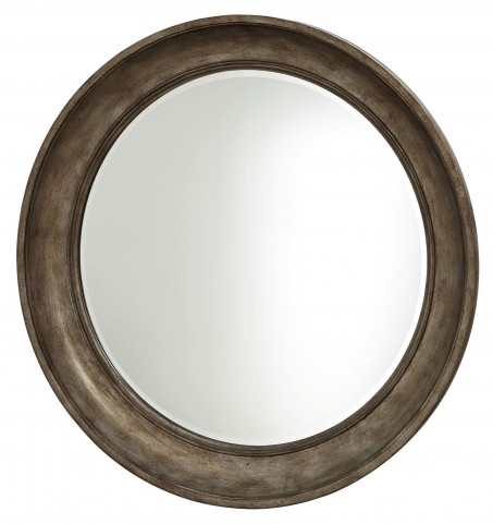 California Hollywood Hills Round Mirror