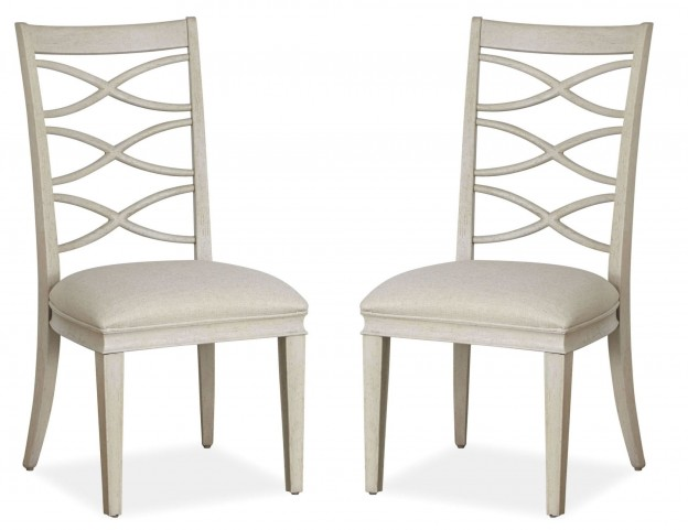 California Malibu X-Back Side Chair Set of 2
