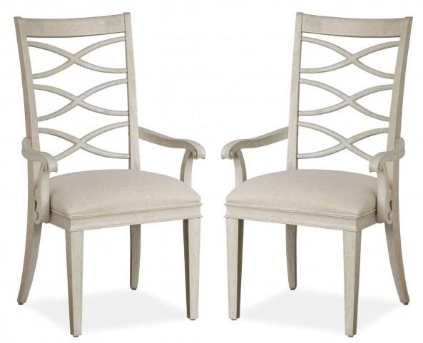 California Malibu X-Back Arm Chair Set of 2