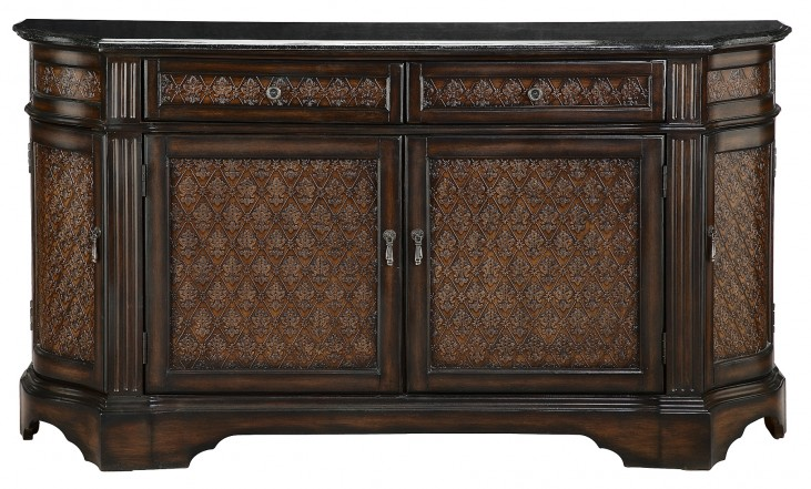 Credenza with Granite Top