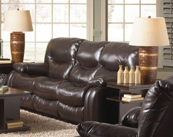 Arlington Mahogany Reclining Sofa