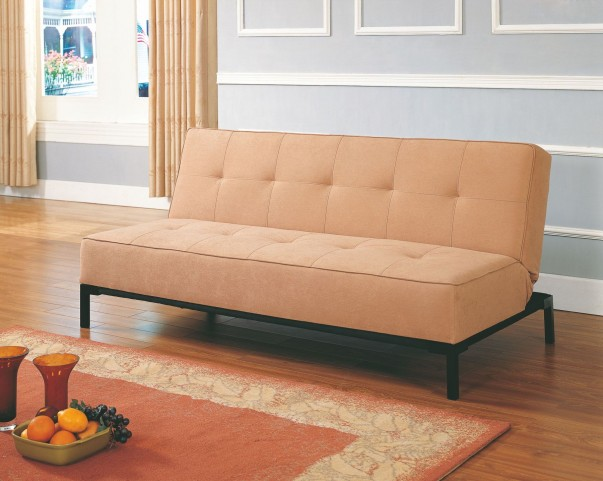 Serene Brown Elegant Lounger