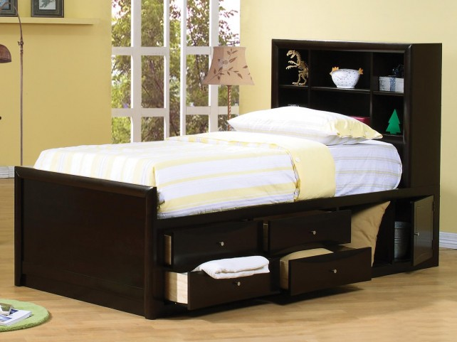 Phoenix Full Storage Bed