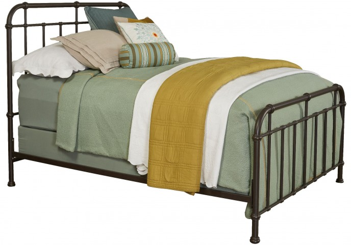 Cranford Queen Spindle Metal Bed
