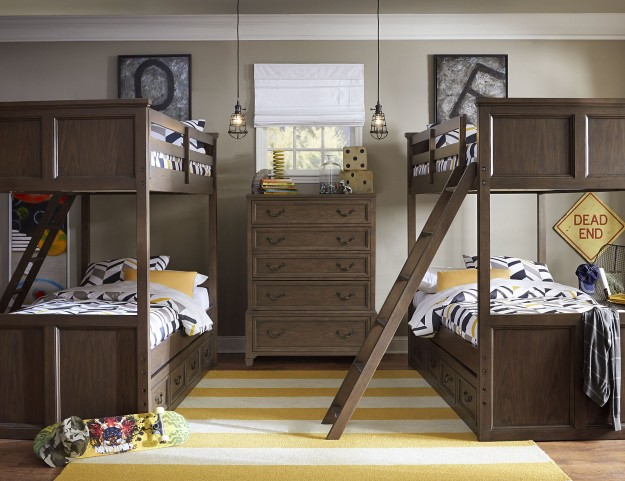 Kenwood Youth Over Twin Bunk Bedroom Set