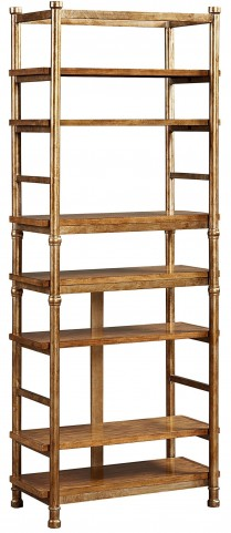 New Vintage Brown Etagere