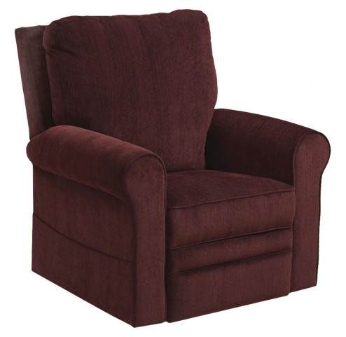 Edwards Plum Power Lift Recliner