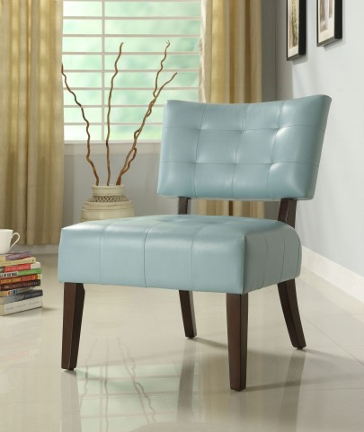 Warner Sky Blue Accent Chair