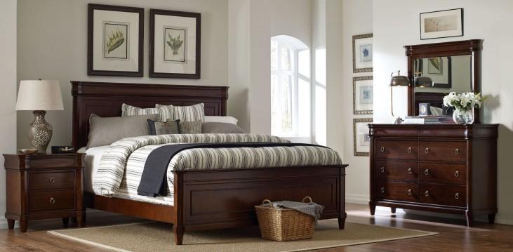 Aryell Light Panel Bedroom Set