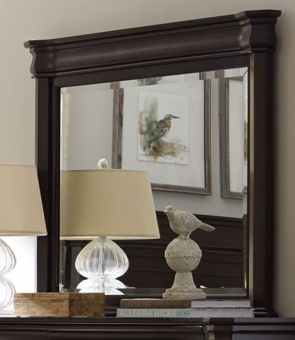 Aryell Dark Landscape Dresser Mirror