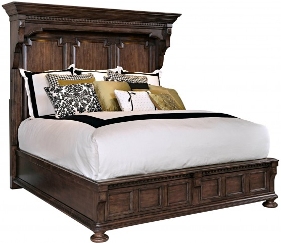 Lyla Queen Mansion Bed