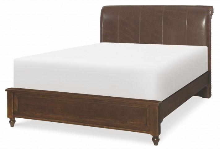 Big Sur Saddle Brown Full Monterey Platform Bed