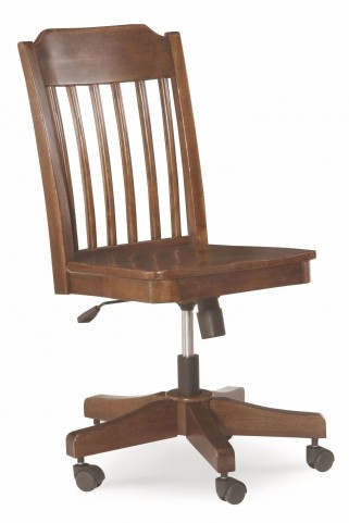 Big Sur Saddle Brown Desk Chair