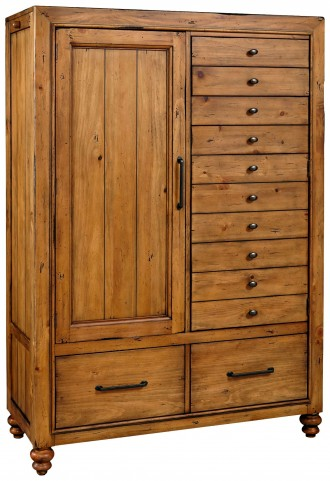 Bethany Square Brown Door Chest