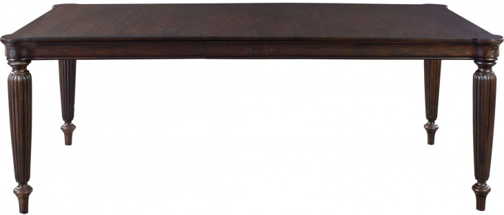 Jessa Extendable Rectangular Leg Dining Table