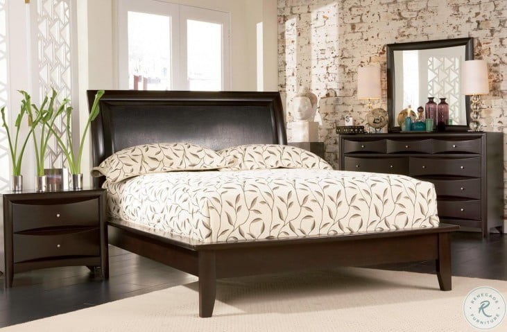 Phoenix Platform Bedroom Set - 200410
