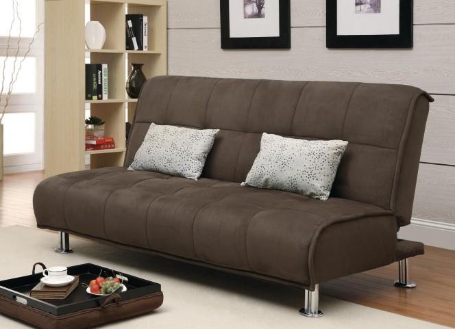 Sofa Bed Brown Sofa