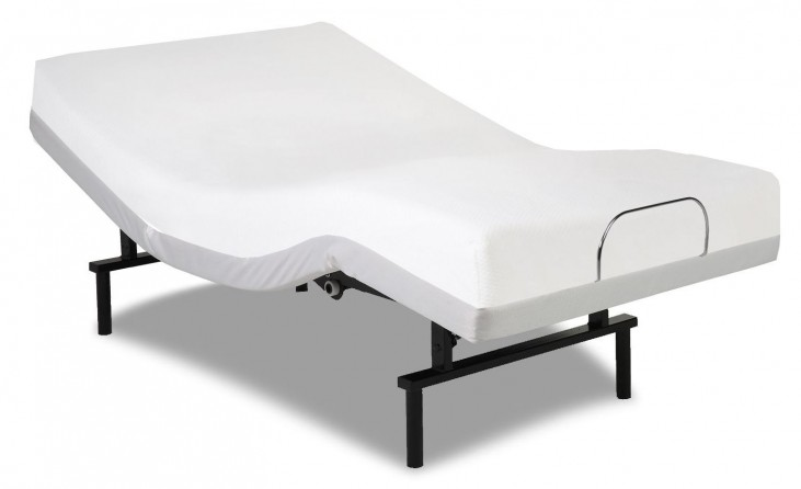 Vibrance White Queen Adjustable Bed