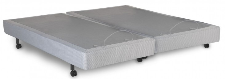 Signature Gray Cal. King Adjustable Bed