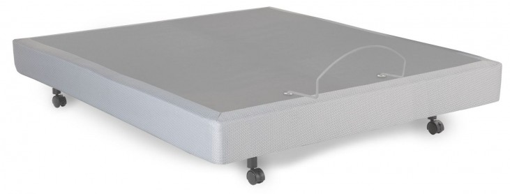 S-Cape Gray Polyester Queen Adjustable Bed