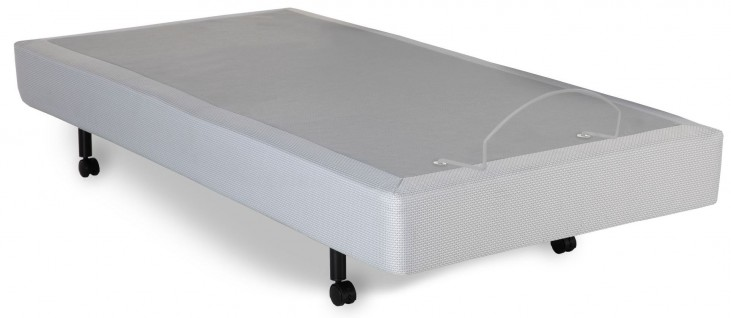 S-Cape Gray Twin Xl Adjustable Bed