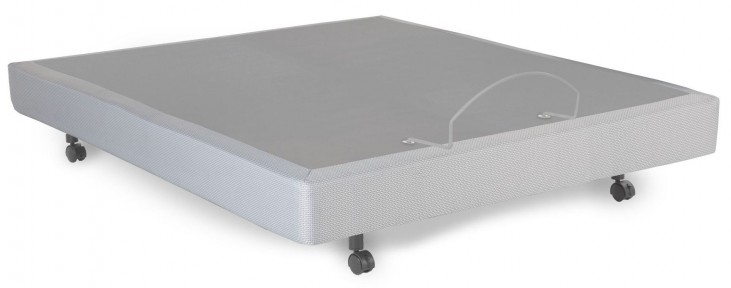 S-Cape Gray Queen Adjustable Bed