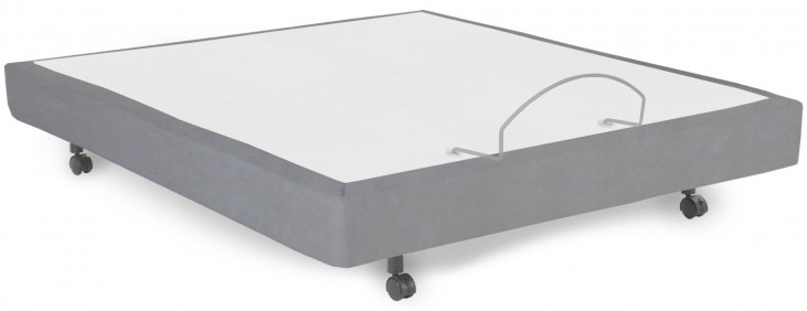 Simplicity 2.0 Gray Queen Adjustable Bed