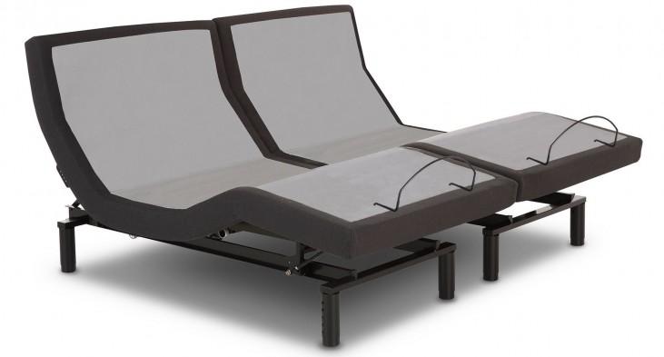 Black 4 Usb Port Cal. King Adjustable Bed
