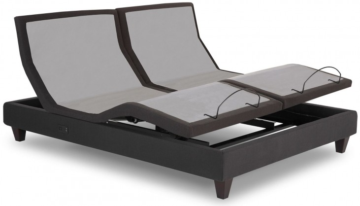 Black Cal. King Adjustable Bed