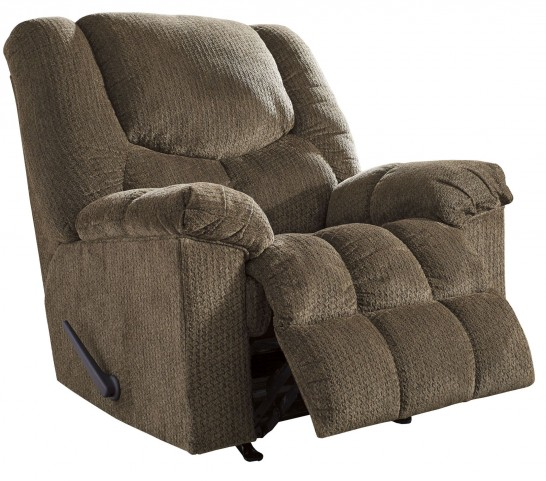 Turboprop Brown Rocker Recliner