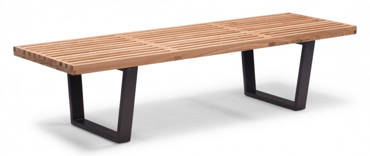 Heywood Natural Double Bench