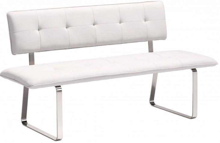 Nouveau White Bench