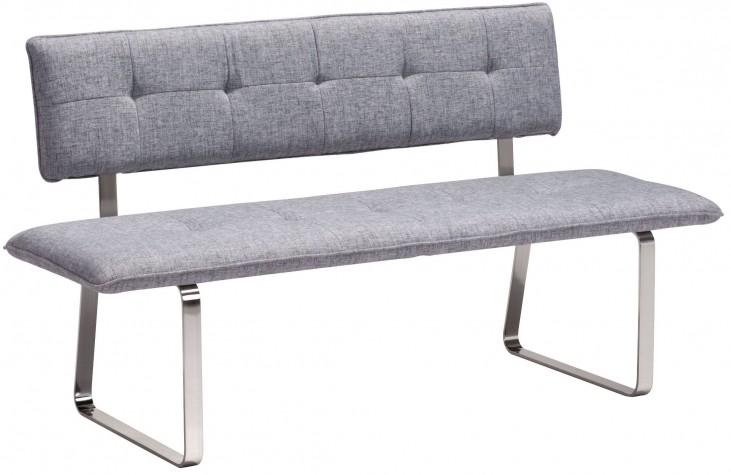 Nouveau Gray Bench