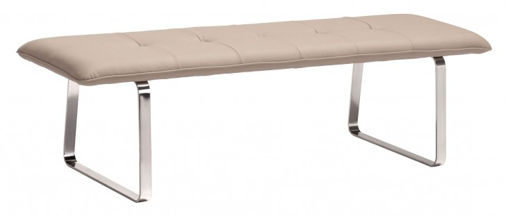 Cartierville Taupe Bench