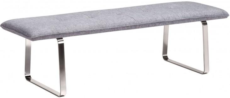 Cartierville Gray Bench