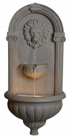 Regal Coquina Wall Fountain