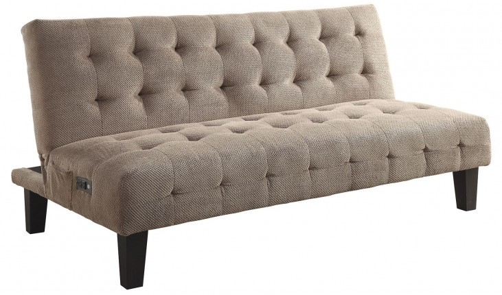 Biscuit Tufted Adjustable Sofa Bed