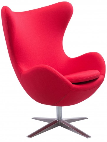 Skien Red Occasional Chair