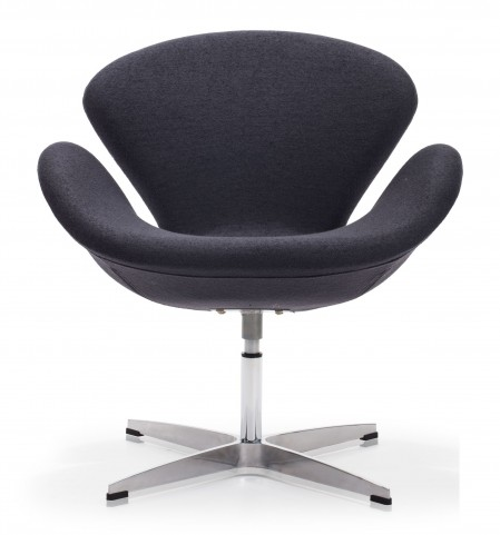 Pori Iron Gray Arm Chair