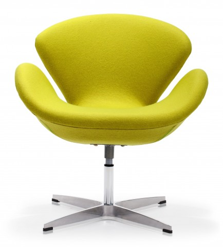 Pori Pistachio Green Arm Chair