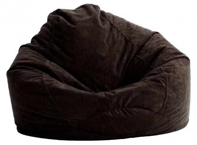 Big Joe Ultra Lounge Black Onyx Suede Comfort Chair