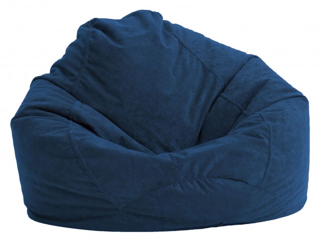 Big Joe Ultra Lounge Blue Sky Suede Comfort Chair