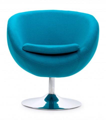 Lund Island Blue Arm Chair
