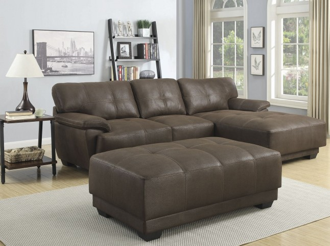 Murik Brown Sectional