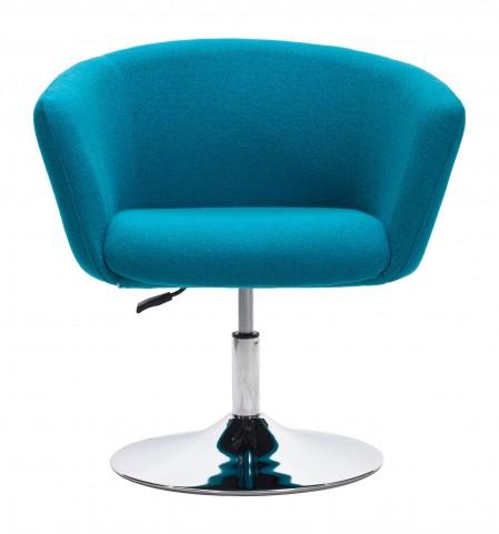 Umea Island Blue Arm Chair