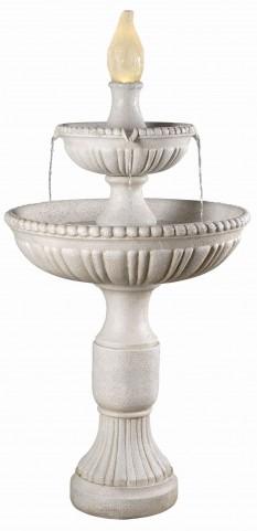 Liberty Roman White Outdoor Floor Fountain