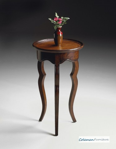 Plantation Cherry 5007024 Round Accent Table