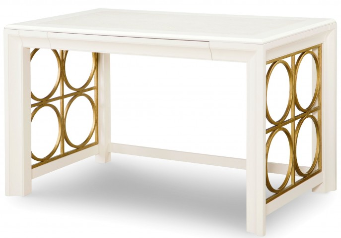 Tower Suite Pearl 1 Drawer Writing Desk
