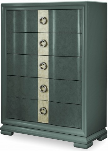 Tower Suite Moonstone 5 Drawer Chest